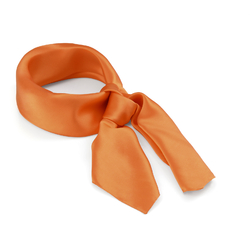 Carré Soie Orange Prémium