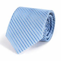Cravate Bleue Ciel Faux-uni