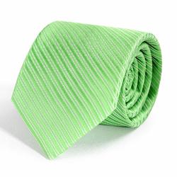 Cravate Vert Pomme Faux-uni
