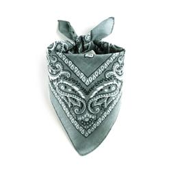 Bandana gris acier