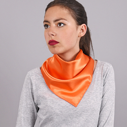 Foulard carré Hotessa Orange