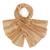 etole-soie-marron-clair-uni-AT-03784-noisette-F16