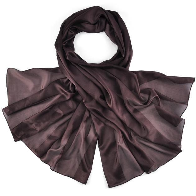 Etole-soie-marron-hotesse-AT-02848-F16