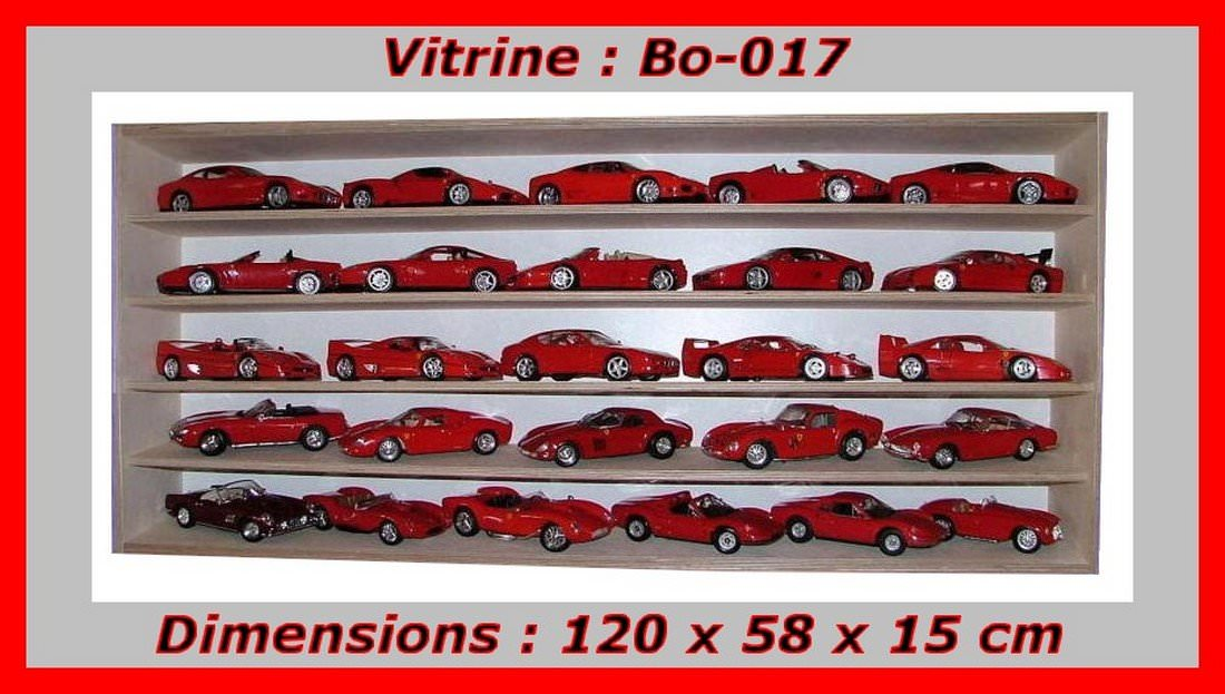 vitrine bois pour collectionneur de miniatures vitrine figurines. Black Bedroom Furniture Sets. Home Design Ideas