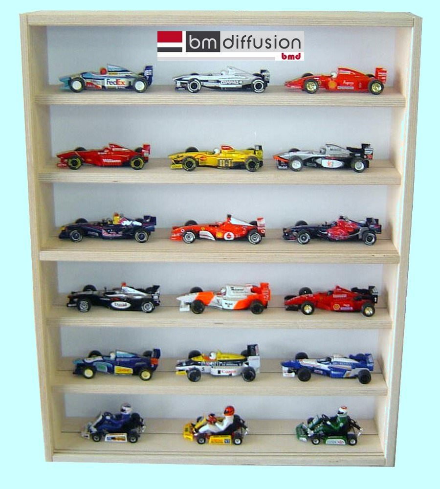 vitrine murale bo 074 collectionneur de voiture slot car 1 32 me vitrine murale vitrine murale. Black Bedroom Furniture Sets. Home Design Ideas