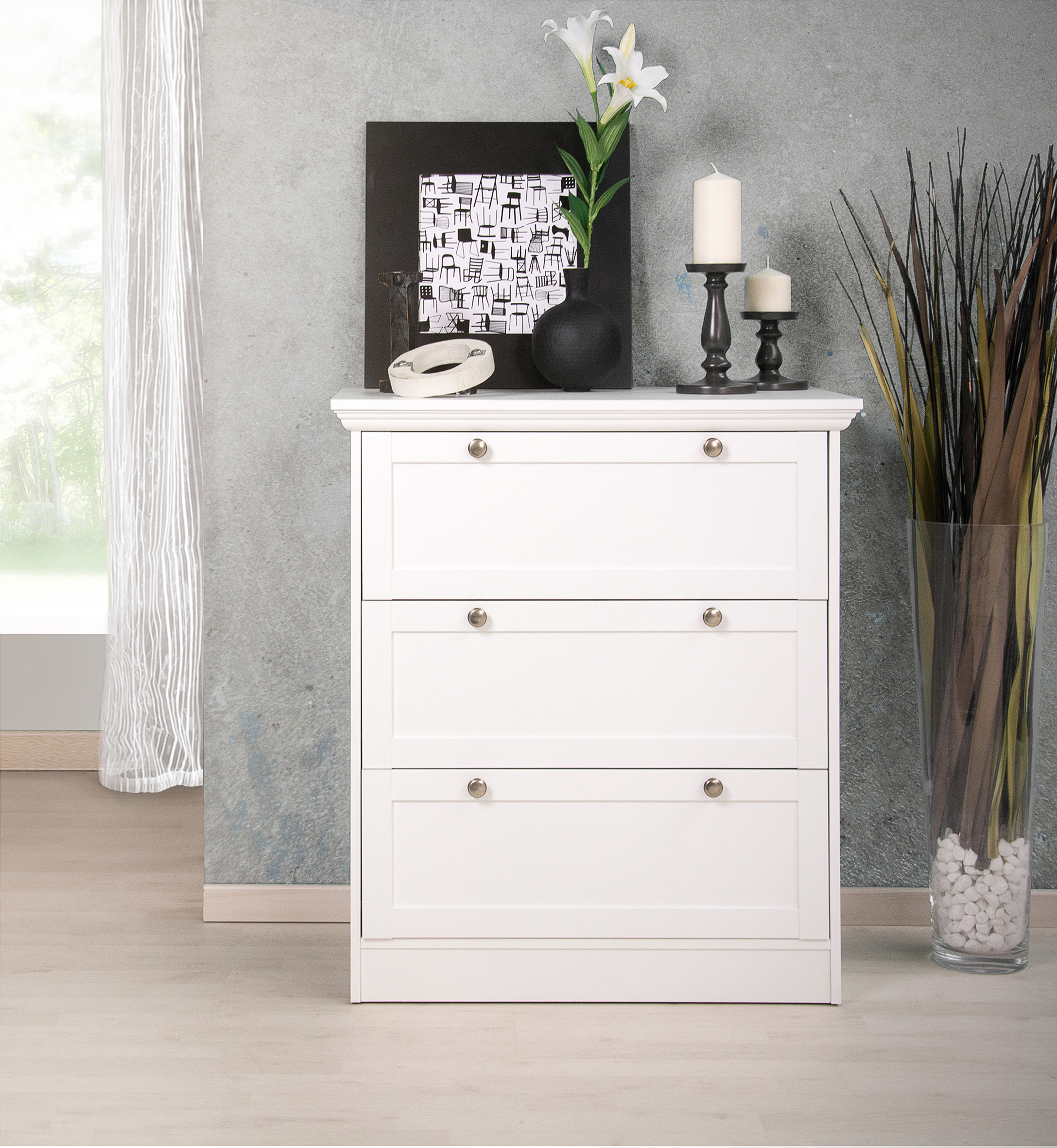 commode chambre couleur