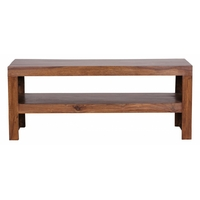 Table basse rectangulaire MUMBAI 110x45 en bois sheesham