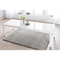 Table extensible rectangulaire 140 - 230 cm en MDF blanc
