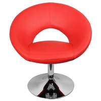 Chaise pivotante relax MALTA rouge