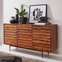 MILO Buffet Commode  Bois Massif Sheesham, 150 cm