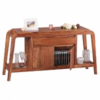 BOHA Buffet Commode Bois Massif Sheesham, 150 cm