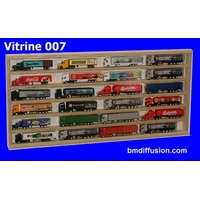 Vitrine murale Bo-007 pour miniature collection train auto
