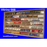 Vitrine murale Bo-008 pour miniature collection train auto voiture