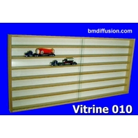 Vitrine murale Bo-010 pour collection miniatures