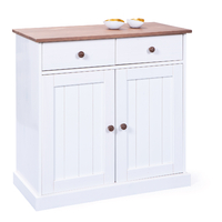Bahut-Bas Commode Westerland Style Campagnard 2 Portes 2 Tiroirs 90/86cm
