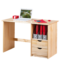 Bureau informatique enfant en pin massif sinus