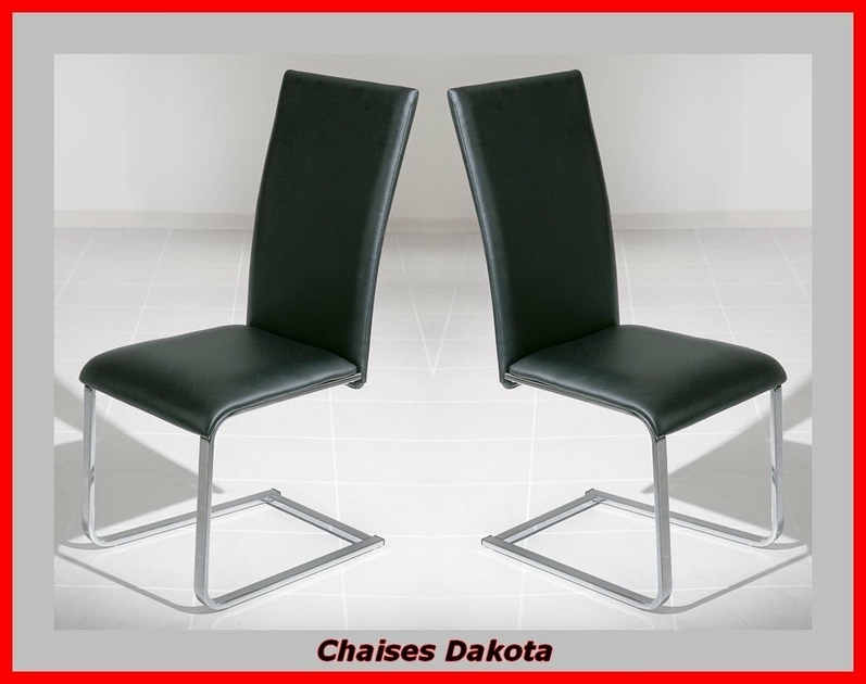 chaise design contemporaine dakota meubles de salon. Black Bedroom Furniture Sets. Home Design Ideas
