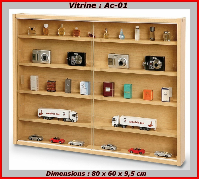 vitrine murale pour miniature achat vitrine miniature. Black Bedroom Furniture Sets. Home Design Ideas