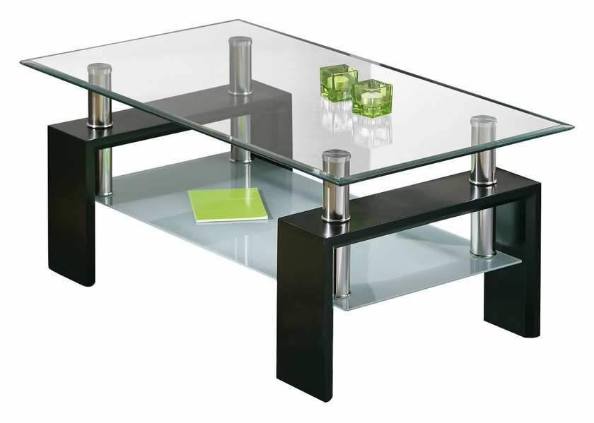 table basse design en verre et bois da 02 meubles de salon. Black Bedroom Furniture Sets. Home Design Ideas