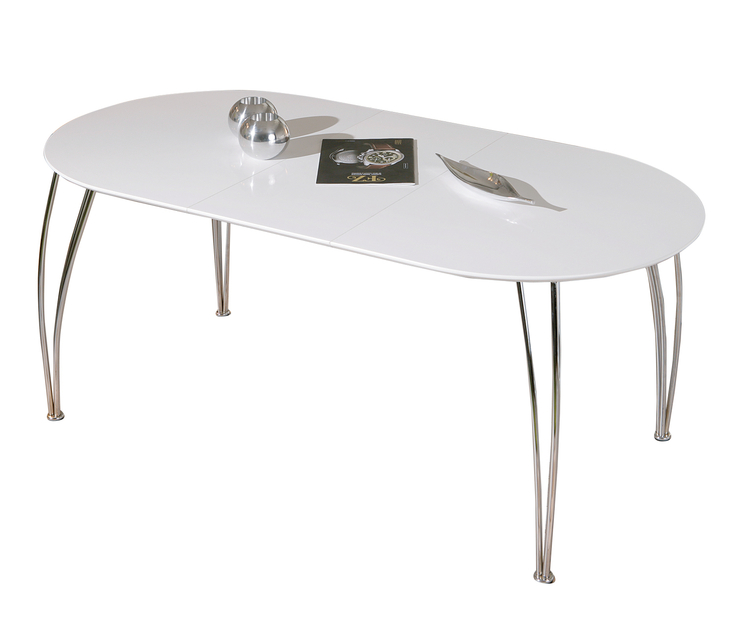 Table cuisine ovale table de cuisine table ovale volets for Table cuisine ovale blanche