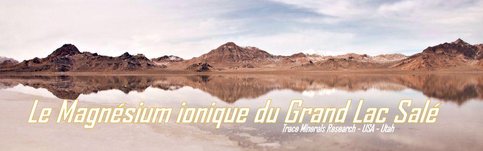 Magnésium ionique du Grand Lac salé
