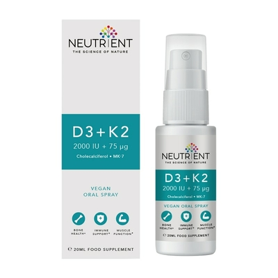 Vitamines D3 et K2 en spray