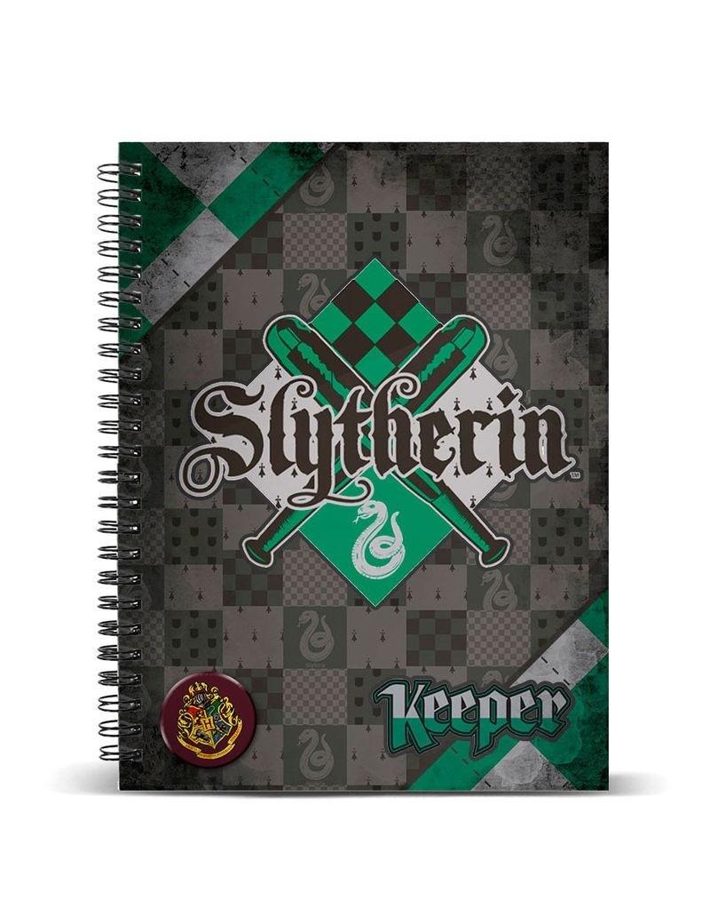 harry-potter-quidditch-slytherin-a4-notebook