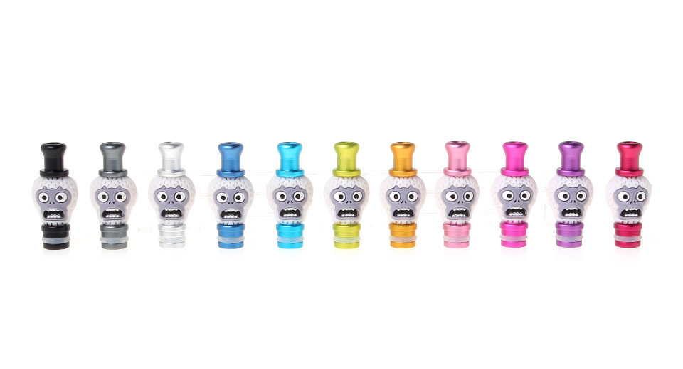 Zombies aluminium + silicone style 510 Drip Tip