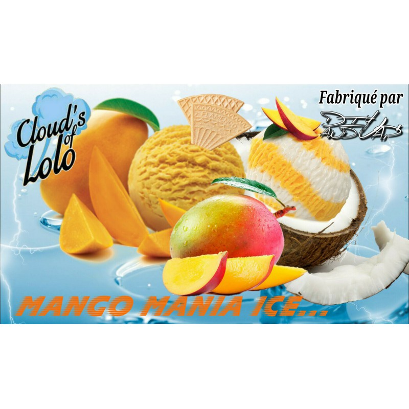 Mango Mania Ice [Cloud\'s of Lolo] Concentré