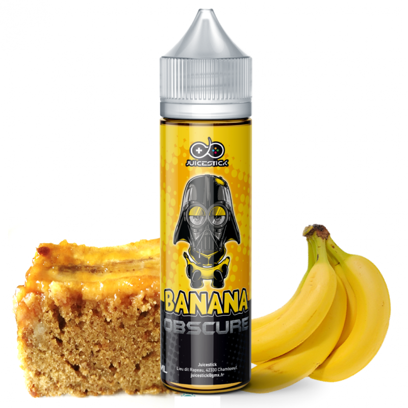 Banana Obscure 50 ml 0mg (Juicestick)