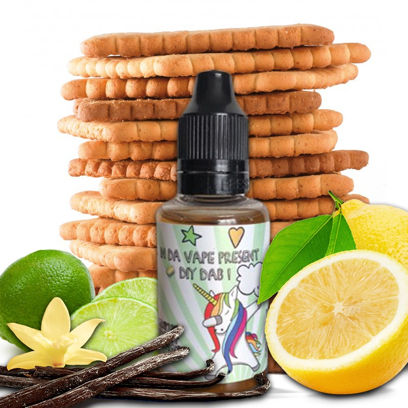 DIY Dab Vanille Biscuit 2 Lemon
