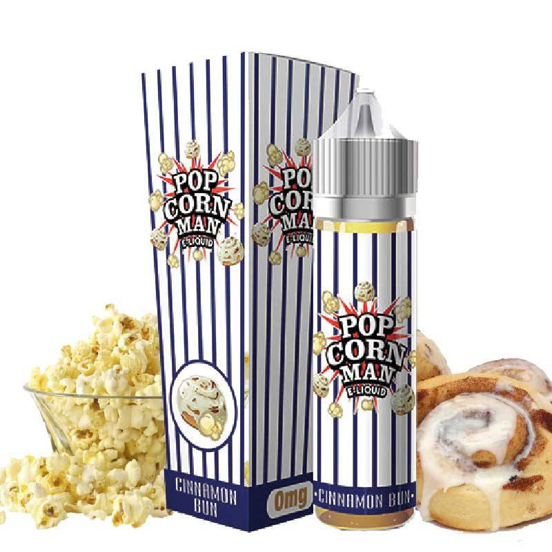 Cinnamon Bun 50 ml 0mg [Popcorn Man]