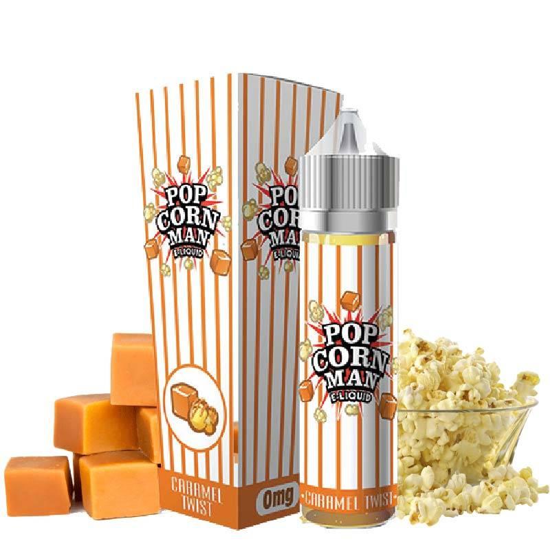 Caramel twist 50 ml 0mg [Popcorn Man]
