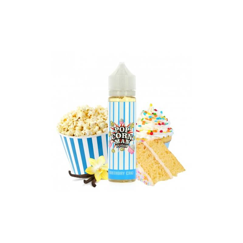 Birthday cake 50 ml 0mg [Popcorn Man]