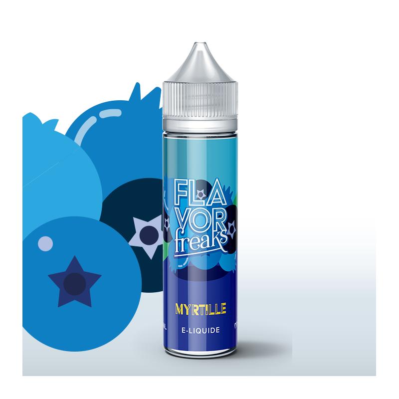 Myrtille 50ml 0mg [Flavor Freaks]