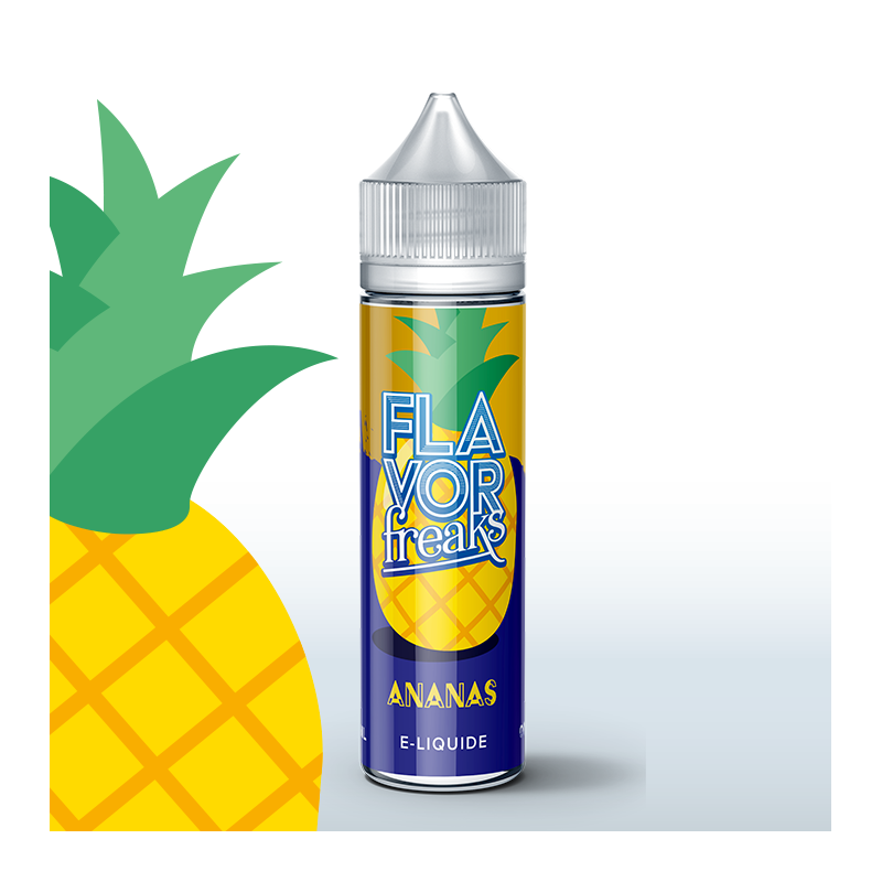 Ananas 50ml 0mg [Flavor Freaks]