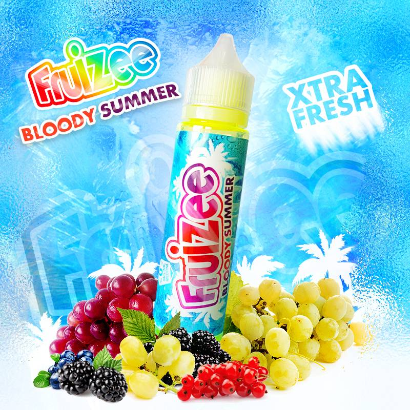 Bloody Summer 50ml 0mg [Fruizee]