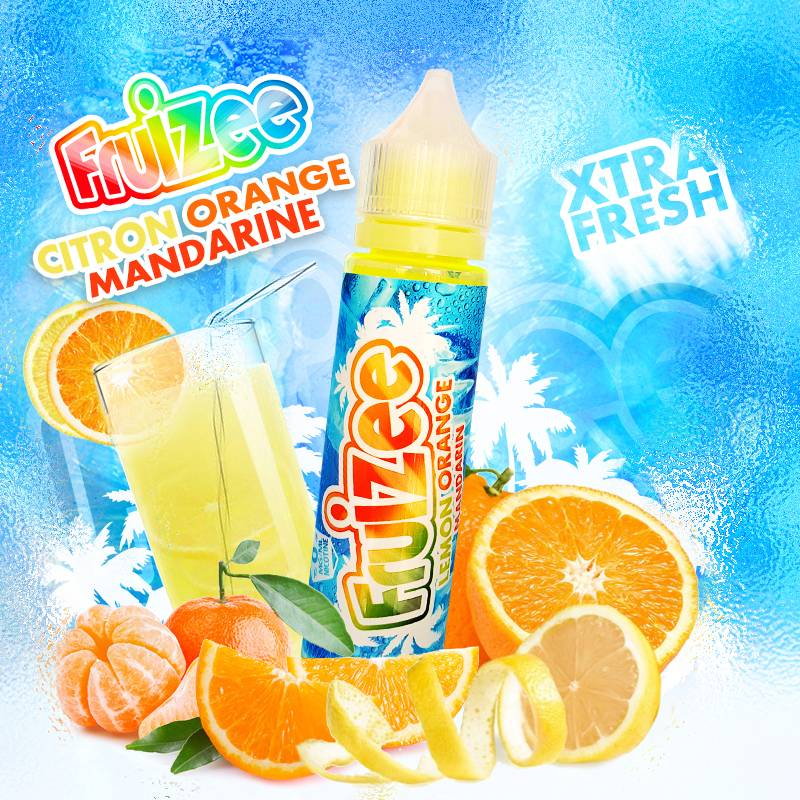 Citron Orange Mandarine 50ml 0mg [Fruizee]