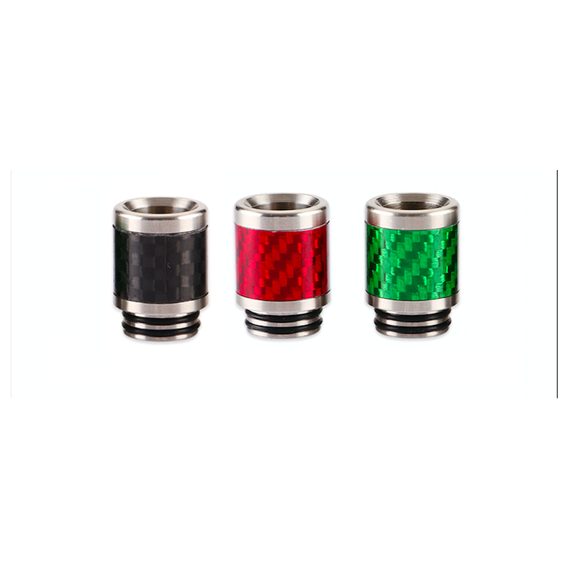 Driptip 810 resin/metal carbon fiber