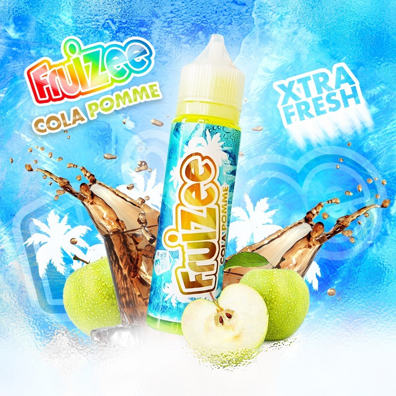 Cola Pomme 50ml 0mg [Fruizee]