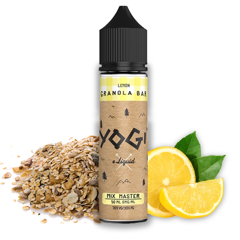 Lemon Granola Bar 50 ml 00 mg [Yogi Juice]