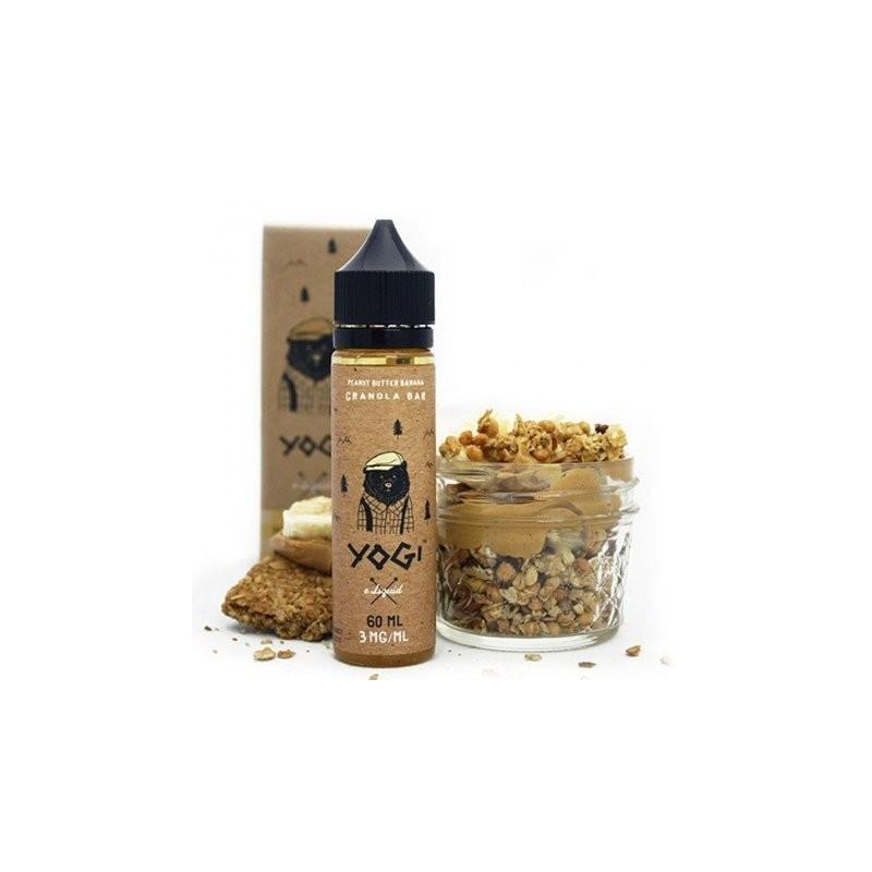 Peanut Butter & Banana Granola 50 ml 00 mg [Yogi Juice]