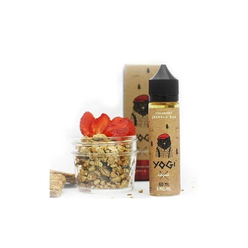 Strawberry Granola 50 ml 00 mg [Yogi Juice]