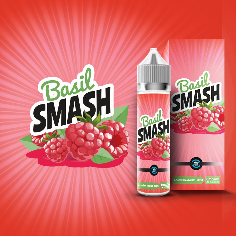 Basil Smash 50 ml 0MG [Aroma Zon]