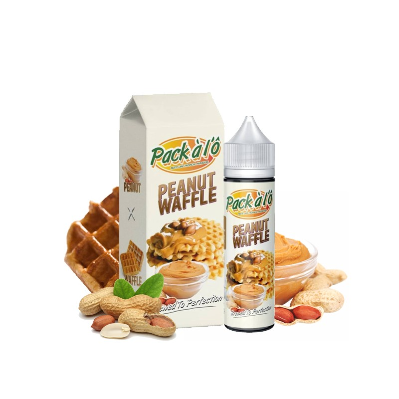 Peanut Waffle 50ML - Pack à l\'Ô
