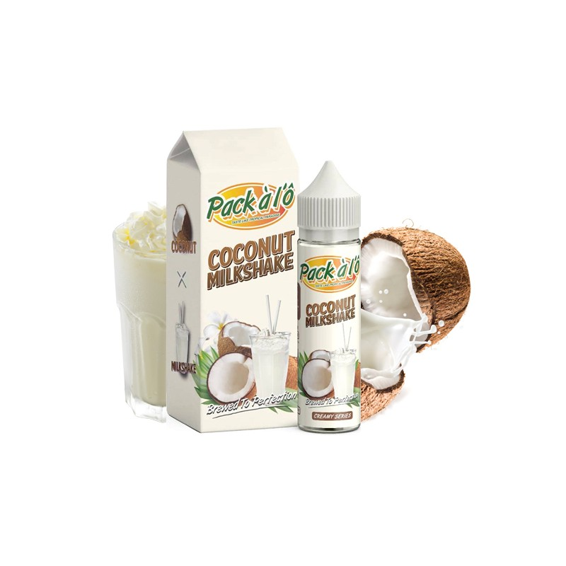 Coconut Milkshake 50ML - Pack à l\'Ô