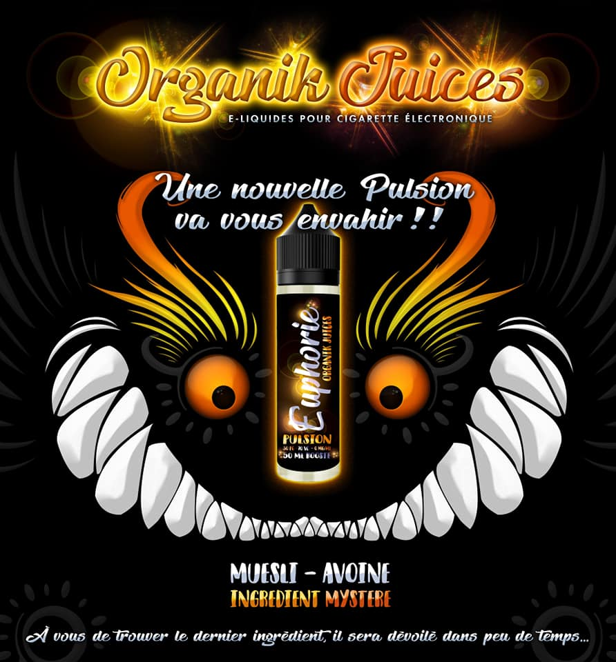 Organik Juice EUPHORIE 60ML
