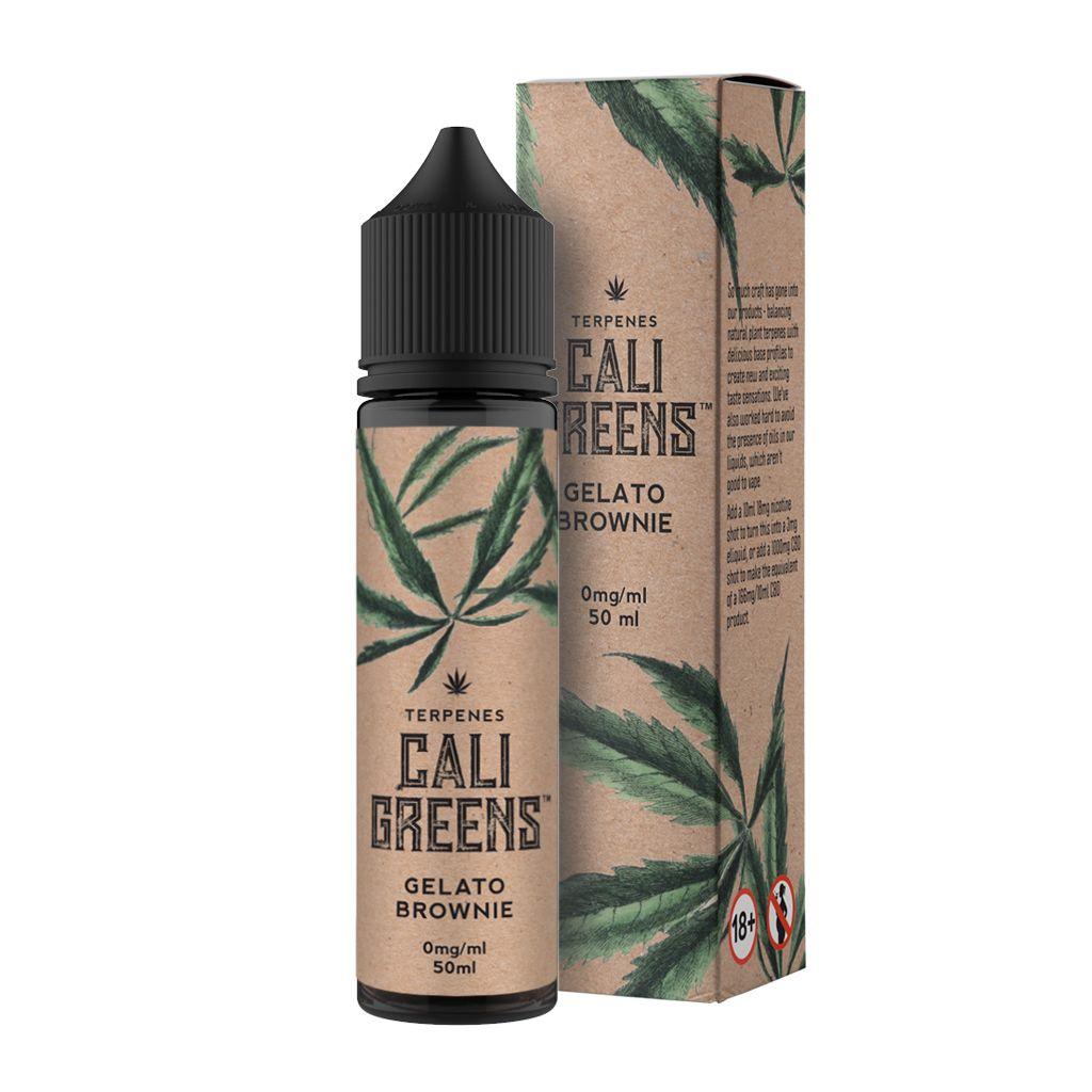 Cali Greens Gelato Brownie Terpenes 50ml Short Fill E-Liquid