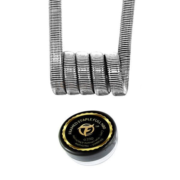 Framed Staple Full N80 0.25Ω - 2 pcs - Fumytech
