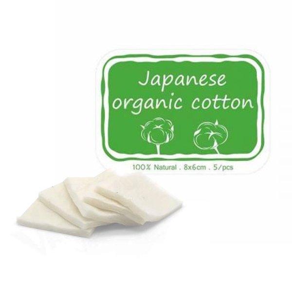 Coton bio japonais 5pcs/Pack